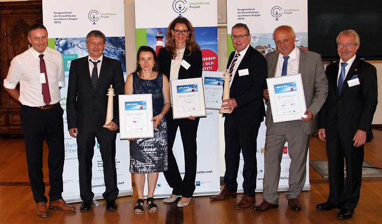 Kelheim's Viloft commended by Bavarian Environmental Cluster
