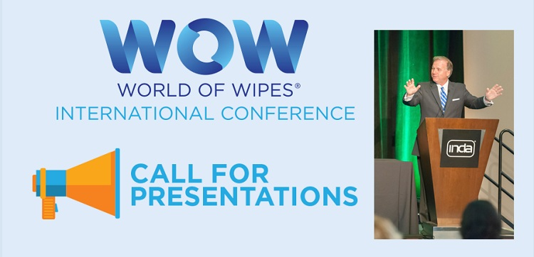 INDA calls for World of Wipes presentations